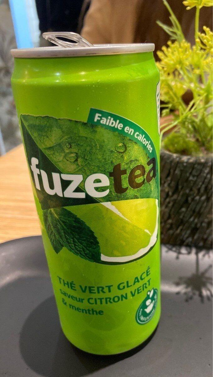 Thé citron vert et menthe - Produit - fr