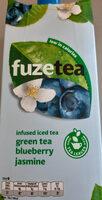 Infused iced tea, green tea, blueberry, jasmine - Product - nl