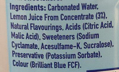 Fanta - Ingredients - en