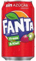 Fanta fresa & kiwi - Producto