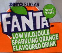 Fanta Orange Zero Sugar - Product - en