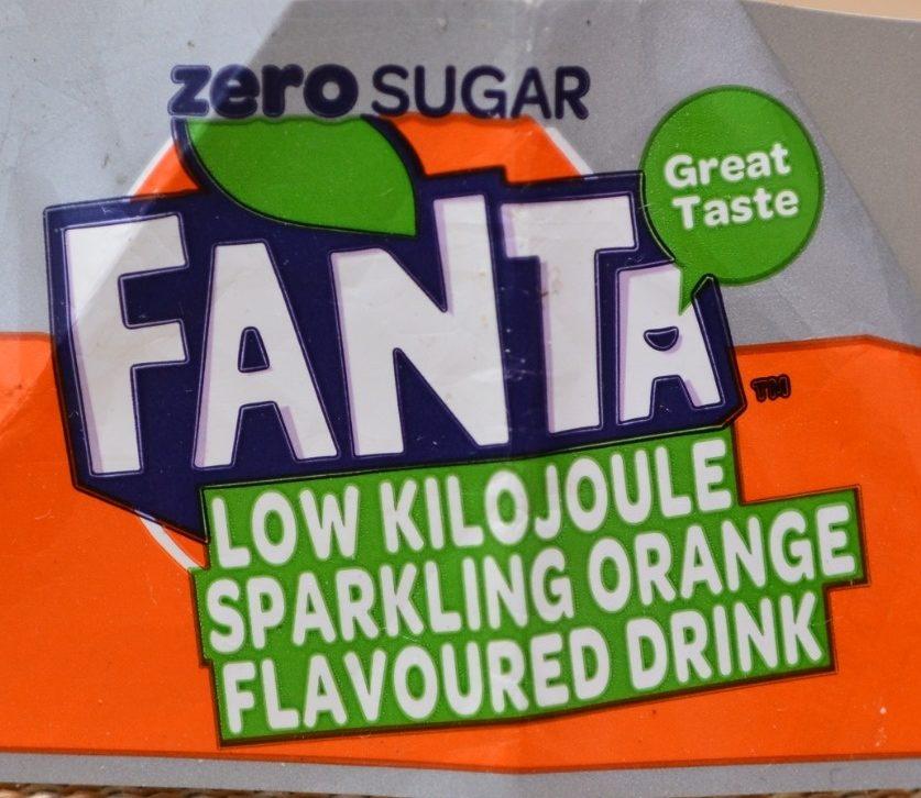 Fanta Orange Zero Sugar - Prodotto - fr
