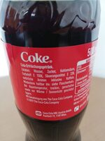 Coca Cola - Ingredients - de