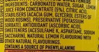 Citron Frappé - Ingredients