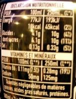Powerade goût Ice Storm - Información nutricional