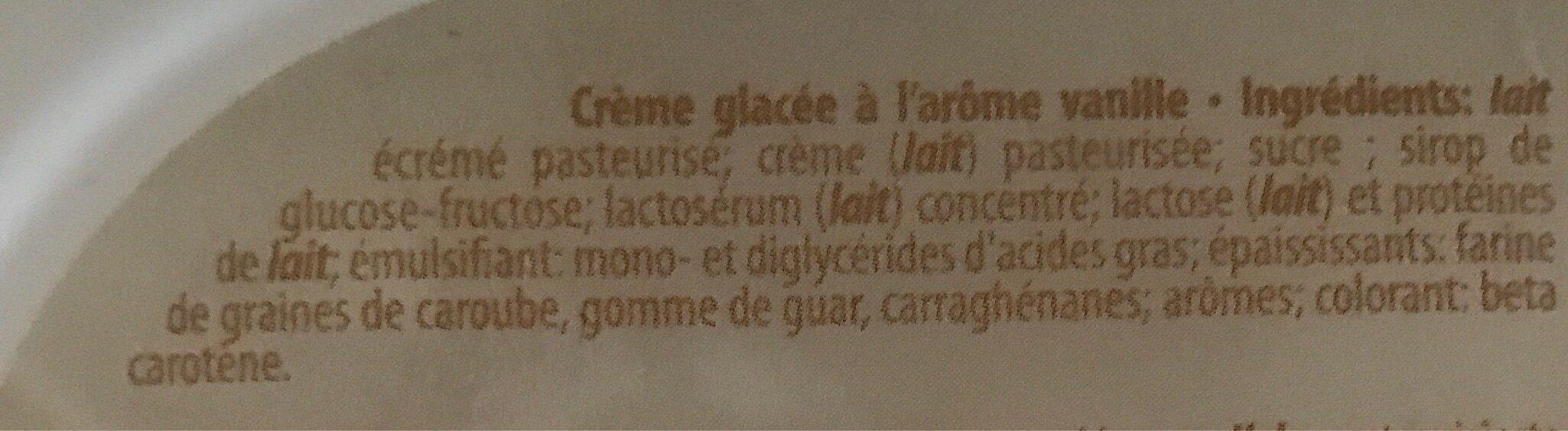 Eskimopie Fine crème vanille - Ingrédients - fr