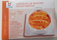 Quenelles de brochet sauce nantua - Product