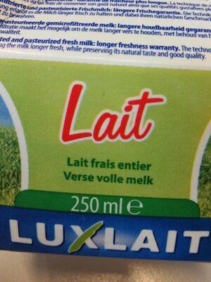 Lait frais entier - Product - fr