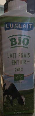 Luxlait lait bio 3,5% - Prodotto - fr
