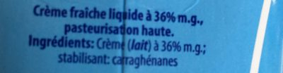 Crème - Ingredienti - fr
