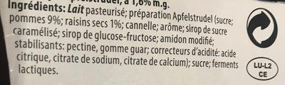 Yaourt de luxembourg - Ingredienti - fr