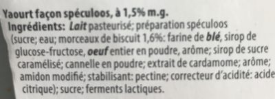 Yaourt du Luxembourg - Spéculoos - 2