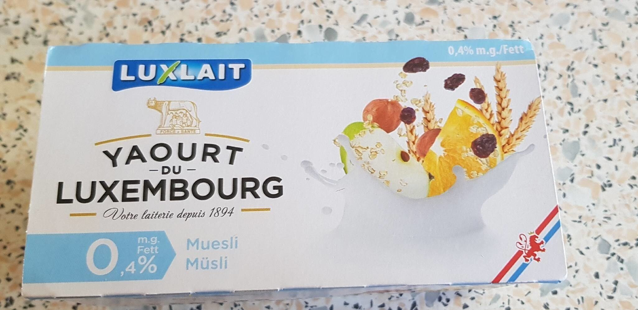 Yaourt du Luxembourg  muesli - Prodotto - fr