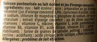 Funny Orange 0.75L - Ingrédients - fr