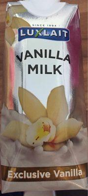 Vanilla milk - Produit