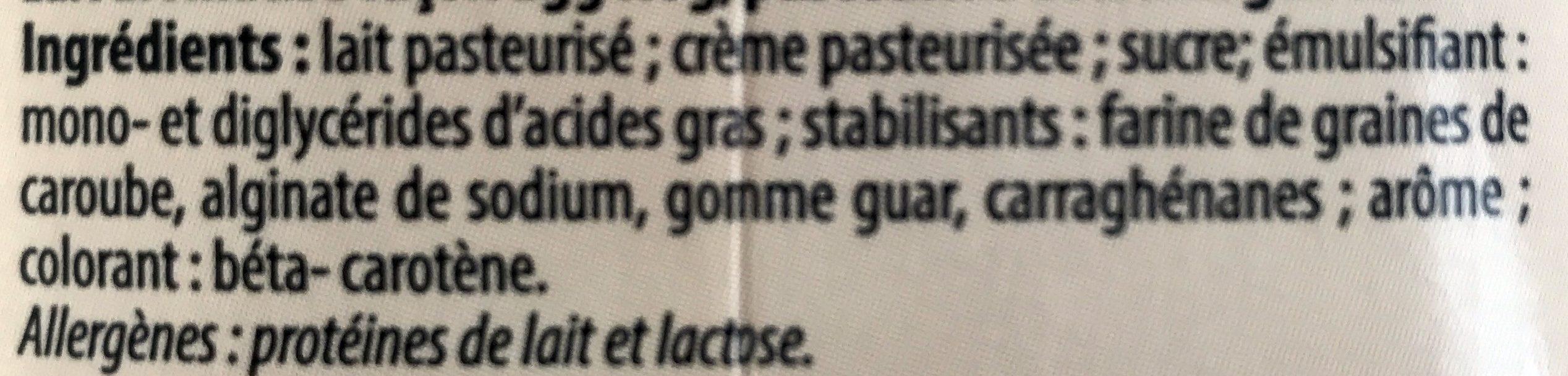 Egg Nog - Ingrédients