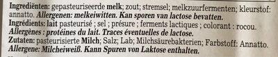 Gouda Light, Luxlait - Ingrediënten - fr