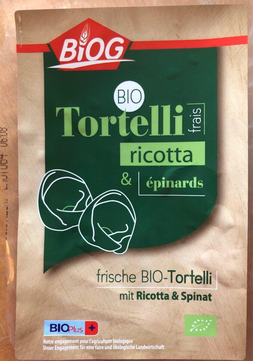 Tortelli ricota epinard - Produit - fr