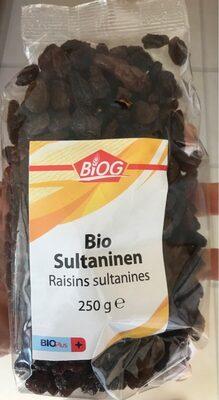 Raisins sultanines - Produit