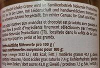 Schockelasbotter Mandel - Inhaltsstoffe - de