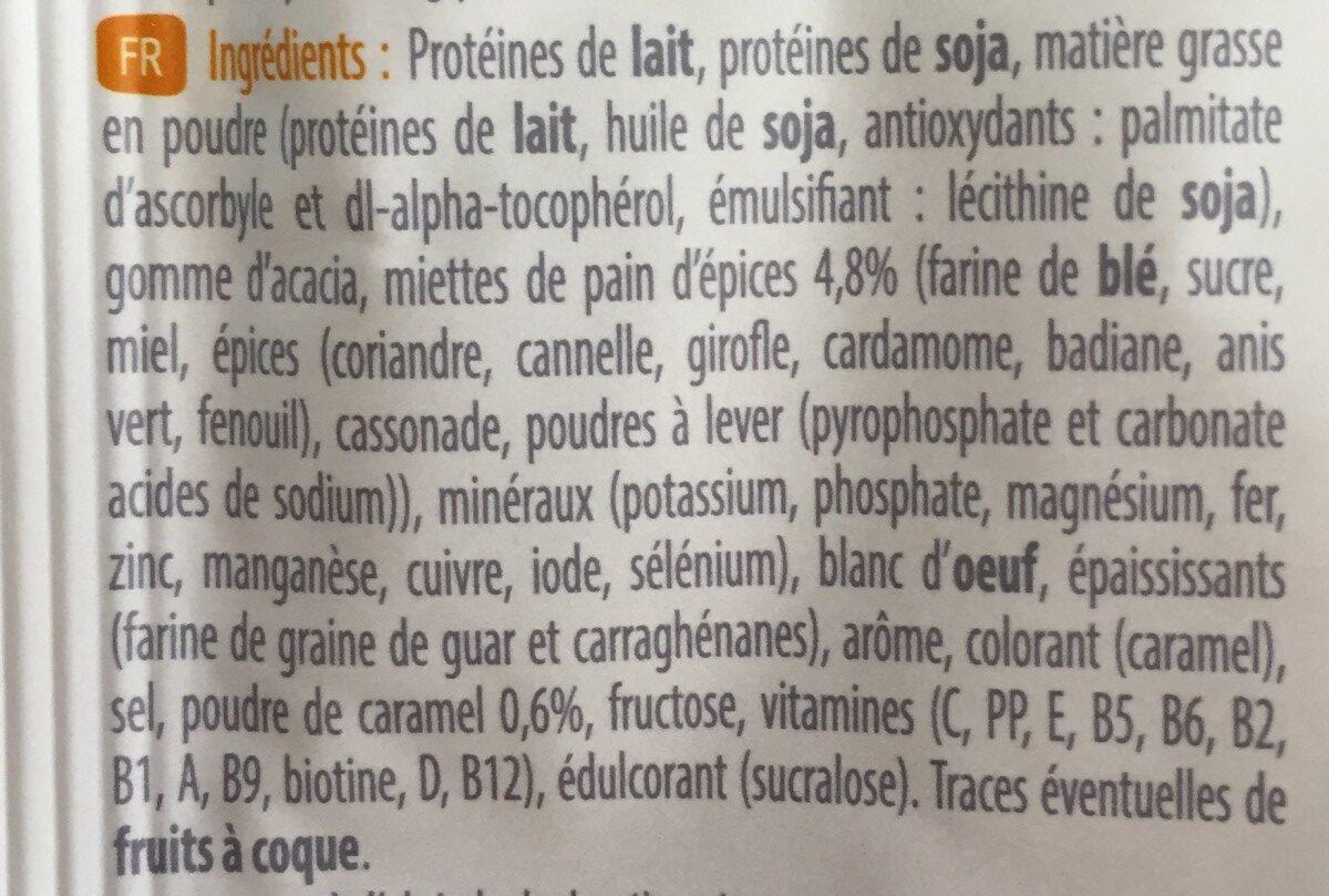 Entremets caramel / pain epices - Ingredients - fr