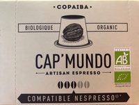 Capsules De Café Copaiba Bio X10 - Ingrédients