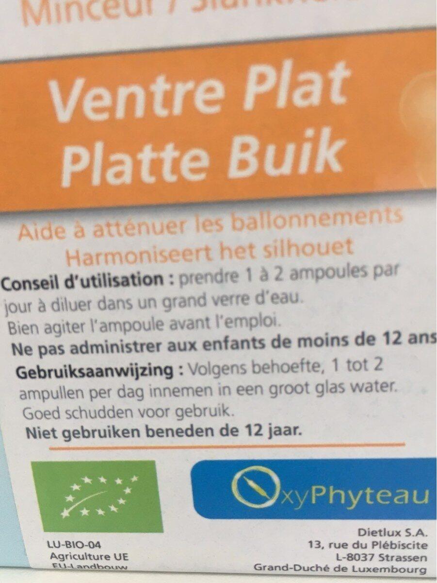 XyPhyteau - Voedingswaarden - fr