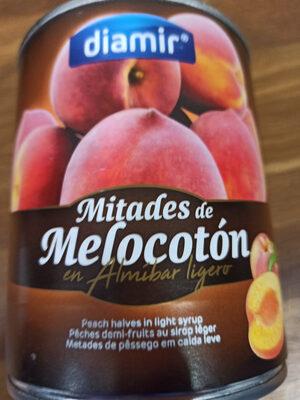 Mitades de Melocotón en Almíbar Ligero - Produit - es