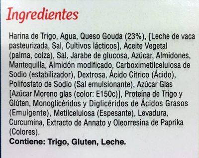 Botana de Queso Gouda - Ingredientes - es