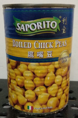 Boiled Chick Peas - Product - en