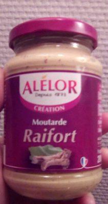 Moutarde raifort - Produit