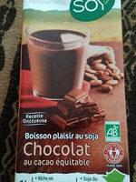 Boisson plaisir au soja - Chocolat au cacao équitable - Produit - fr