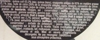 Pause Snack Douceur des Andes - Ingredients - fr