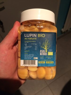 Lupin bio au naturel - Producto