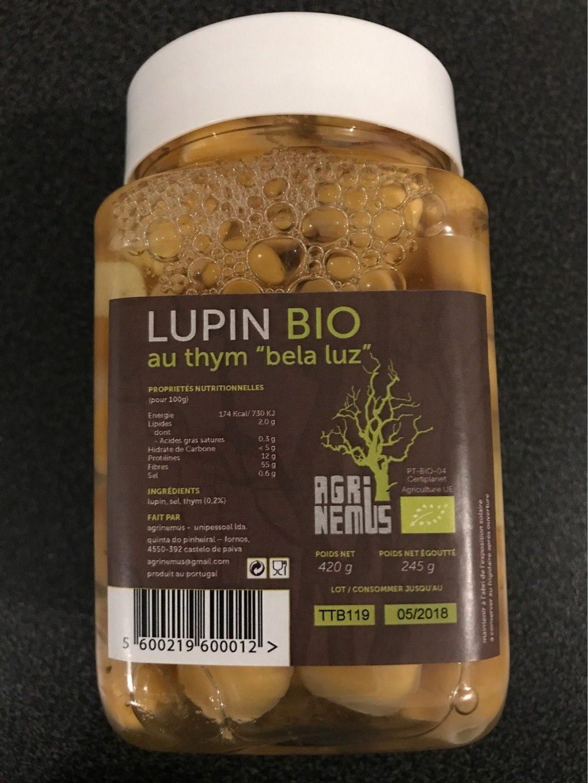 Lupin bio - Produit