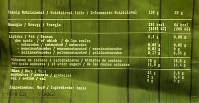 Guud Green detox - Nutrition facts