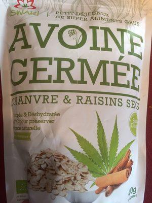 Avoine Germée, Chanvre & Raisins Secs - Produit