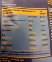 Super petit dejeuner - Nutrition facts - fr