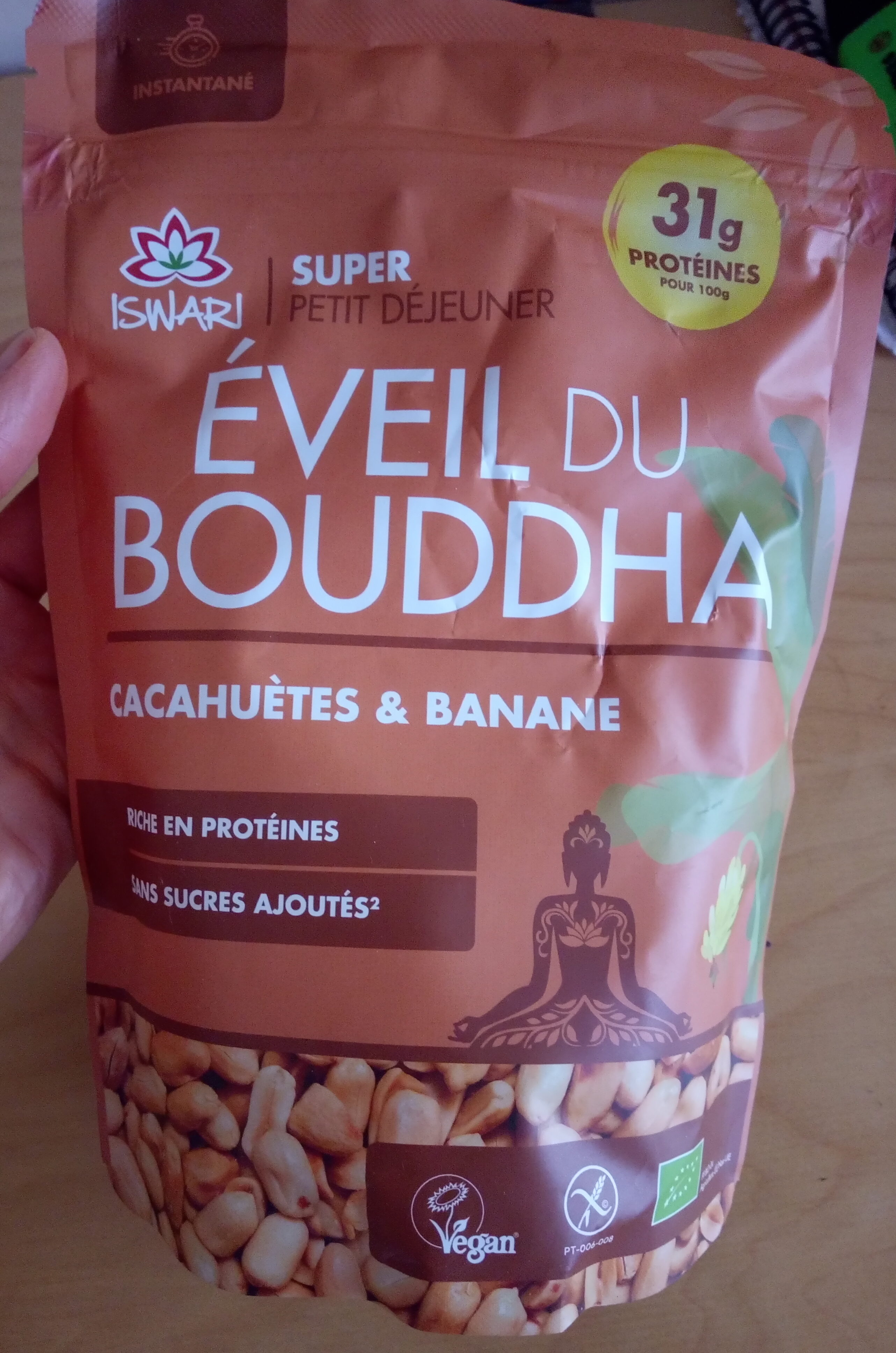 Éveil du Bouddha cacahuètes & bananes - Product - fr