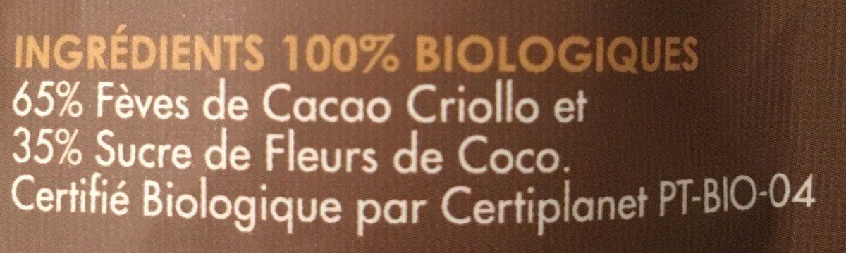 Exótica! - Ingredients