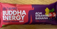 Buddha Energy - Acai, Banana & Strawberry - Produit - fr