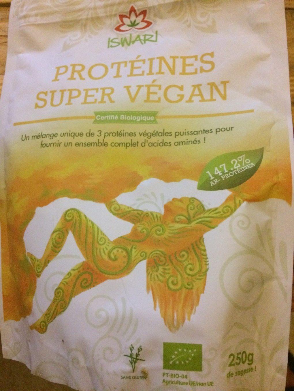 Protéines Super Vegan Riz, Pois, Chanvre Bio - Product