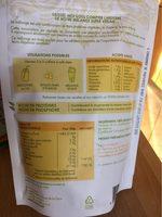 Protéines Super Vegan Riz, Pois, Chanvre Bio - Voedigswaarden