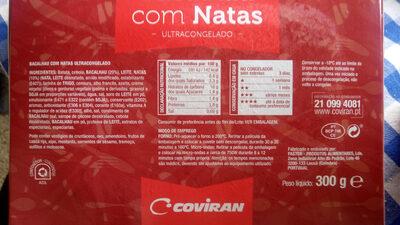 Bacalhau com Natas - ultracongelado - Product