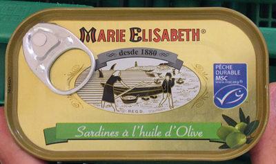 Sardines Avec Arêtes Marie-Elis. 125 GR, 5 Boîtes - Produit - de