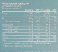 Diet bar - Informations nutritionnelles - fr