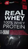 100% Real Whey Protein Stevia Fraise - Product - fr