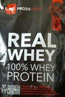 100% Real Whey Protein Stevia Vanilla - Product - en