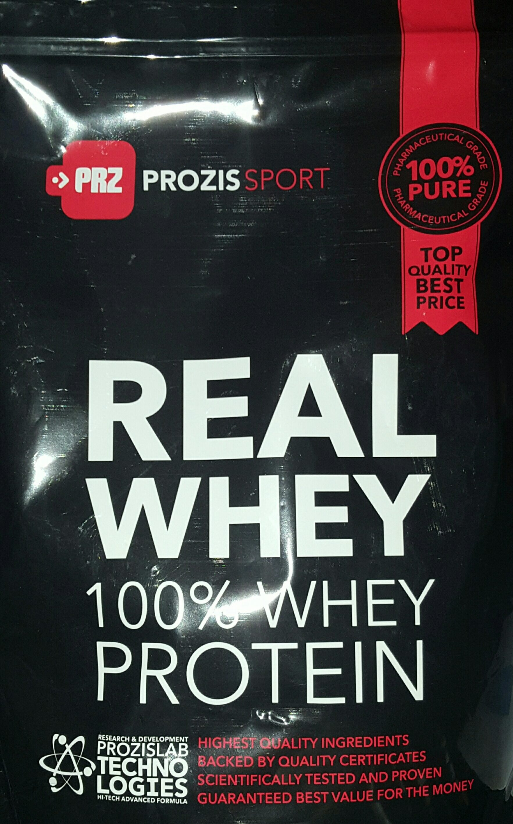 100% Real Whey Protein Stevia Banana - Product - en