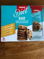 Diet bar peite de chocolate chip - Producto - fr
